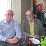 PF and David Ferry, Borokline, MA, 7 September 2016